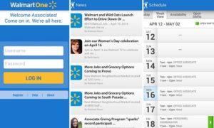 WalmartOne login and Walmartone schedule