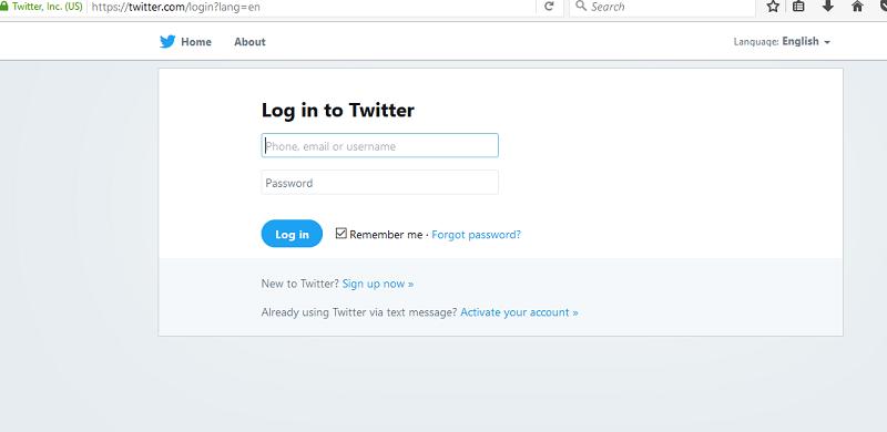 twitter login twitter sign in