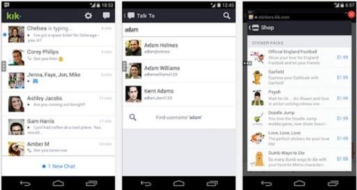 kik messenger app