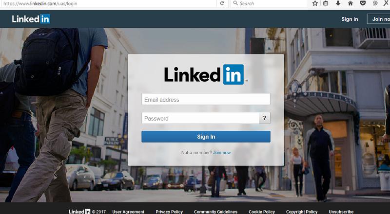 Linkedin Login - www.linkedin.com sign in